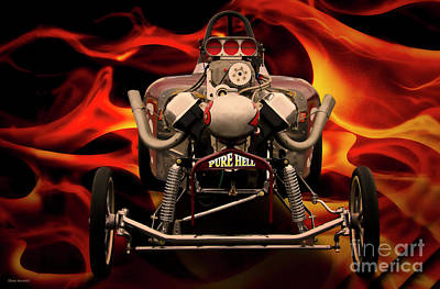 Photograph - Aa Fuel Altered 'infamous Pure Hell' X by Dave Koontz