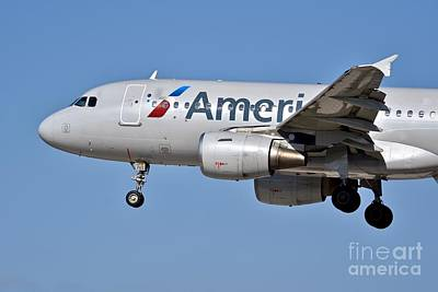 Tina Turner - AA jet in flight by JL Images