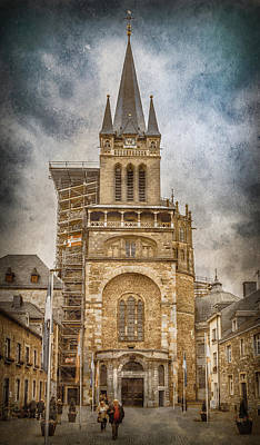 Photograph - Aachen, Germany - Cathedral by Mark Forte
