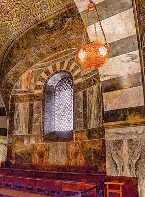 Photograph - Aachen, Germany - Cathedral - Upper Gallery by Mark Forte