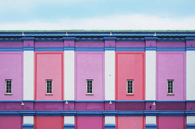 Aarhus Architecture Art Print by Happy Home Artistry