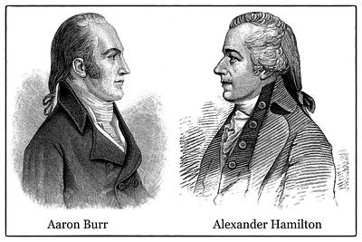 Photograph - Aaron Burr And Alexander Hamilton by Phil Cardamone