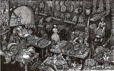 Aaron Finds Duryano Art Print