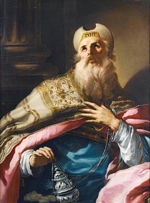Painting - Aaron High Priest Of The Israelites by Anton Kern