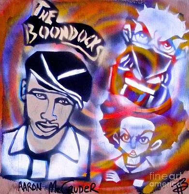 Liberal Painting - Aaron Mc Gruder's Boondocks by Tony B Conscious