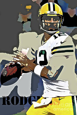 Aaron Rodgers, Green Bay Packers, Number 12 Original