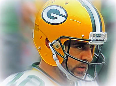 Photograph - Aaron Rodgers by Kay Novy