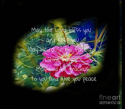 Mixed Media - Aaronic Blessing by Jessica Eli