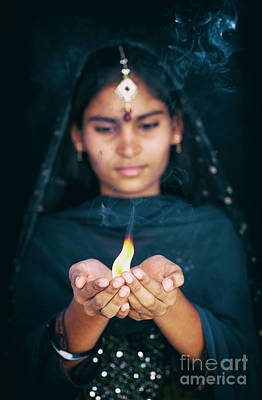 Photograph - Aarti by Tim Gainey