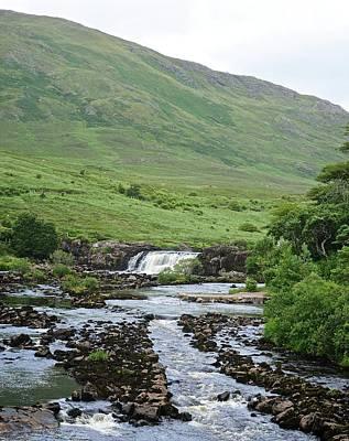 Photograph - Aasleagh Falls by Matt MacMillan