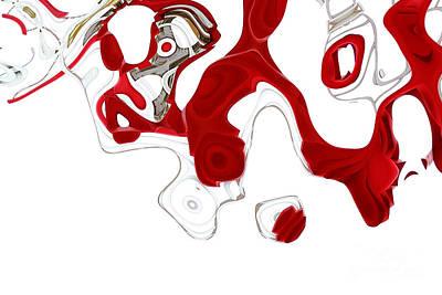 Digital Art - Ab-strakto - Hi04cc by Variance Collections