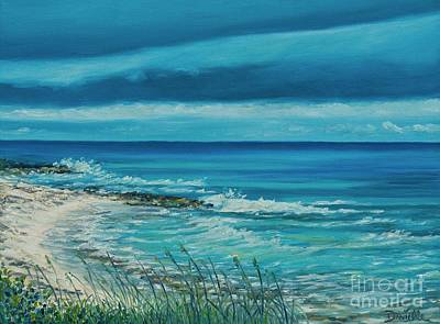 Seagrass Painting - Abacos by Danielle  Perry