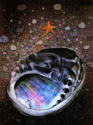 Abalone Art Print by Robert Foster