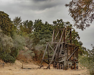 Photograph - Abandon Mine Shaft by Wendy Carrington