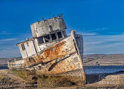 Abandon On Point Reyes Art Print by Jerry Fornarotto
