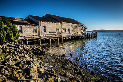 Bodega Bay Photograph - Abandonded Fishing Wharf by Garry Gay