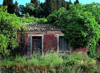 Photograph - Abandoned Abode by Richard Ortolano