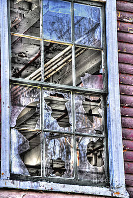 Art Print featuring the photograph Abandoned by Alana Ranney