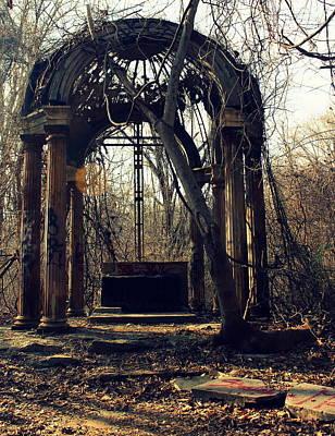 Photograph - Abandoned Altar by Joseph Skompski