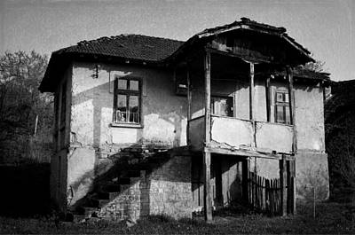 Photograph - Abandoned And Forgotten by Rumiana Nikolova