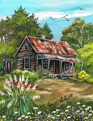 Abandoned And Forgotten Art Print by Val Stokes