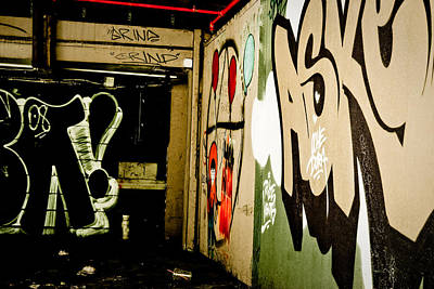 Abandoned And Grunge Art Print by Yurix Sardinelly