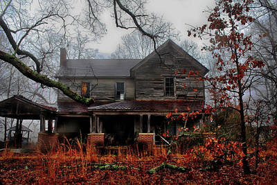 Photograph - Abandoned Autumn by Jessica Brawley