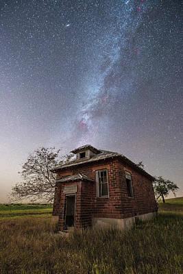 Schoolhouses Photograph - Abandoned Bricks  by Aaron J Groen