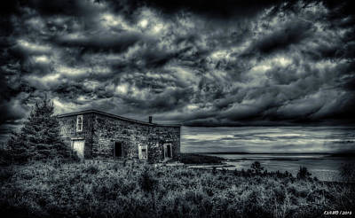 Photograph - Abandoned Building, Goldboro, Ns by Ken Morris