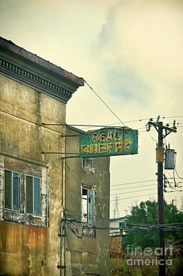 Art Print featuring the photograph Abandoned Building by Jill Battaglia