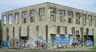 Photograph - Abandoned Building Puntarenas 2 by Randall Weidner