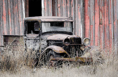 Photograph - Abandoned But Not Forgotten by Athena Mckinzie
