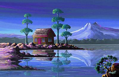 Abandoned Cabin Original