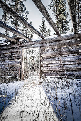 Abandoned Cabin Art Print by Bryan Moore