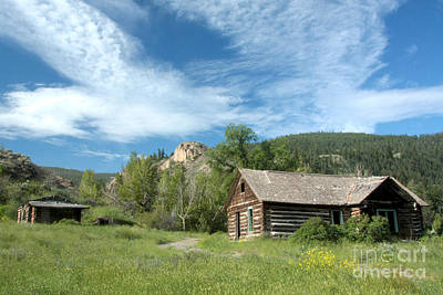 Photograph - Abandoned Cabin by Frank Townsley