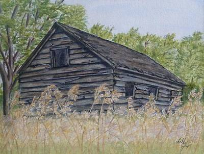 Painting - Abandoned Cabin by Kelly Mills
