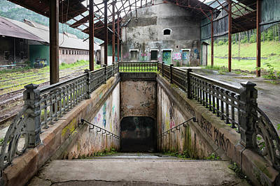 Photograph - Abandoned Canfranc International Railway Station - French Pier -underpass by RicardMN Photography