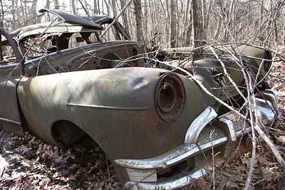 Abandoned Car 12 Art Print
