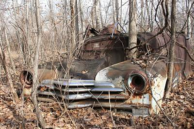 Abandoned Car 5 Art Print