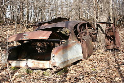 Abandoned Car 7 Art Print