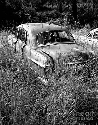 Photograph - Abandoned Car by Denise Bruchman