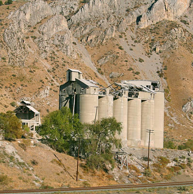 Space Photographs Of The Universe - Abandoned Cement Silos by Pat Turner