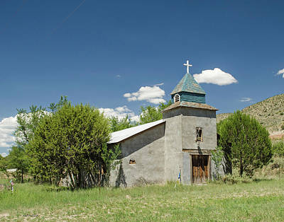 Photograph - Abandoned Church 2 - Hondo, N M by Allen Sheffield