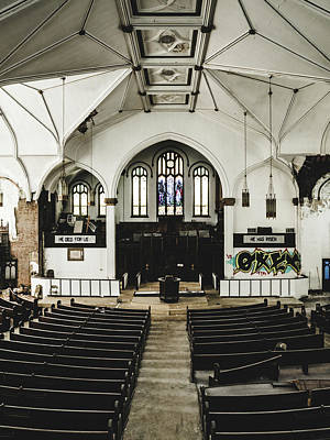 Abandoned Church. Dilapidated Church In St. Louis Art Print by Dylan Murphy