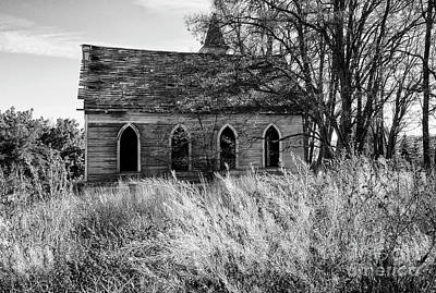 Photograph - Abandoned Church Grass Valley 2 by Bob Christopher