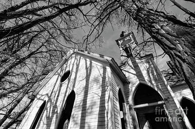 Photograph - Abandoned Church Grass Valley 4 by Bob Christopher