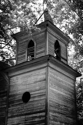 Photograph - Abandoned Church Steeple by George Taylor