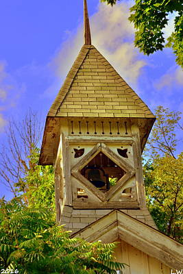 Photograph - Abandoned Church Steeple by Lisa Wooten