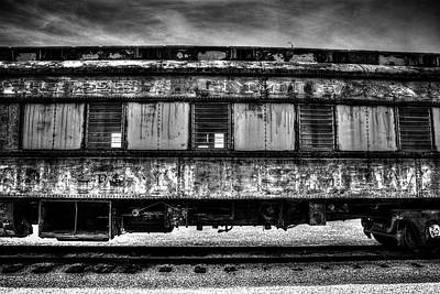 Photograph - Abandoned Circus Transport Car by Roger Passman
