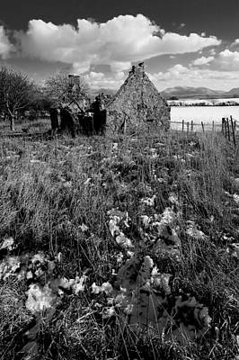 Photograph - Abandoned Cottage, Henblas by Peter OReilly